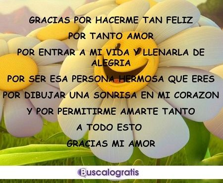 Frases De Amor Para Dar Las Gracias A Tu Novio Fotos De