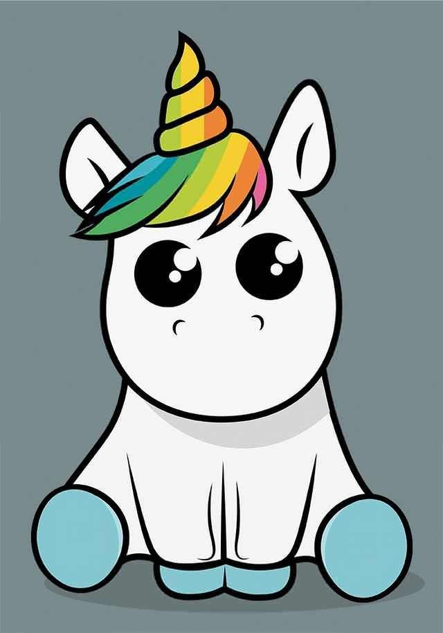 Dibujos kawaii de unicornio fotos amor imagenes