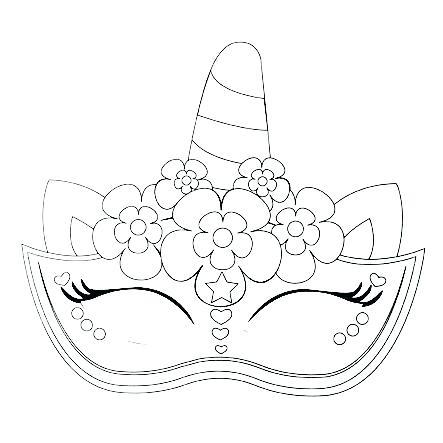 Dibujos Kawaii De Unicornios Para Colorear