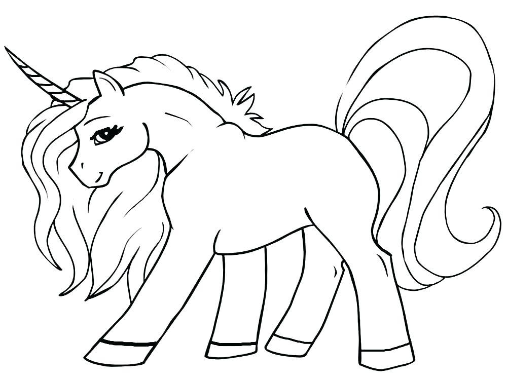 Pagina Para Colorear Unicornio Para Para Para Para La Gratis