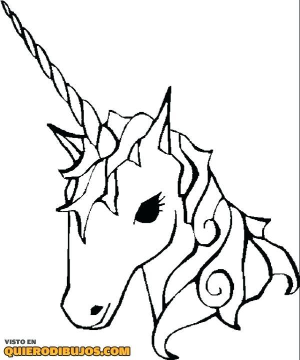 Pagina Para Colorear Unicornio Para S Dibujo Para Pintar Unicornio