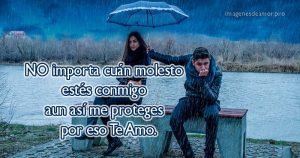 Imagenes de amor bajo la lluvia