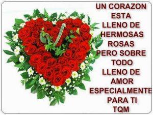 Imagenes de amor con flores