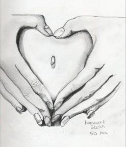 heart-belly-button-pencil-sketch