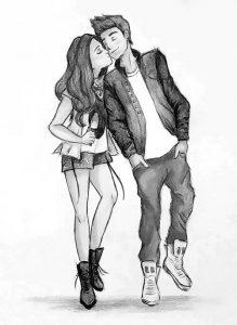 7a79893b26b15bb035ee85667ea594ac--couple-drawings-cute-couple-sketches
