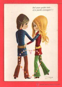 Dibujos animados  amor