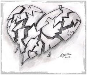 Fotos de amor triste para dibujar