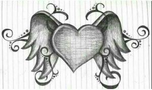 Dibujos de amor lapiz