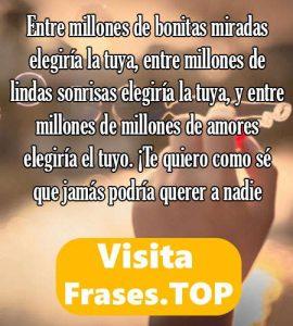 Las Mejores Frases y Mensajes de Amor Lindos y Bonitos para mi Novio o Novia - frases.top