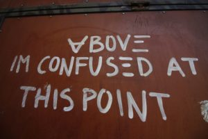 Frases de confundido en ingles
