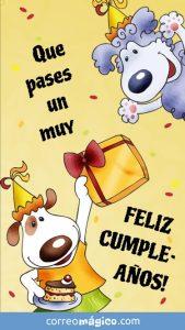 Tarjetas de cumpleaños animadas para whatsapp