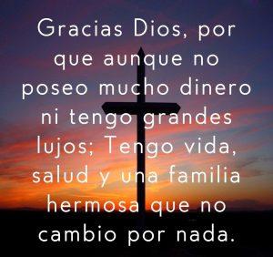 Agradecimiento Dios
