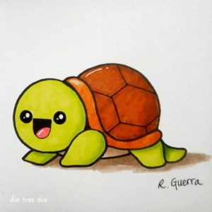 Dibujos kawaii de animales fáciles