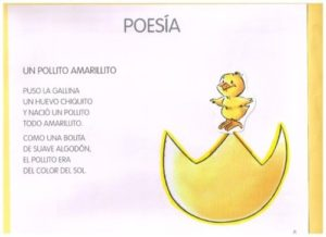 Poesías cortas para niños cortitas