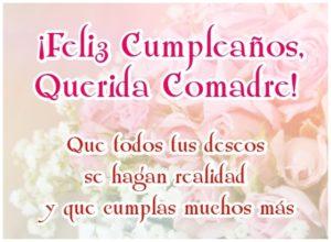 Feliz-Cumpleaños-Querida-Comadre-Imagen-Bonita-Con-Frase-Para-Compartir-en-Facebook-o-enviar-desde-móvil