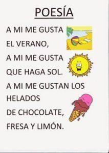 Poesias para niños
