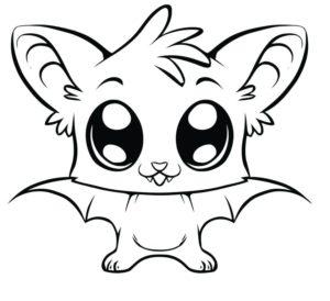 Dibujos kawai de animales 365bocetos