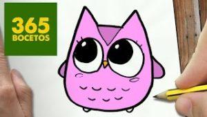 Dibujos kawai de animales para imprimir