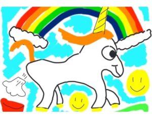 Dibujo-Unicornio-Musk