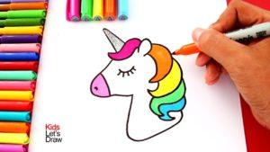 Dibujos de unicornios muchos