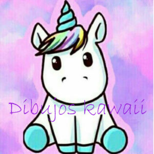 unicornio kawaii