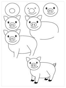 dibujos fáciles para dibujar paso a paso.