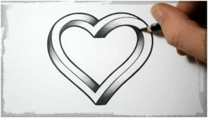 imagenes-de-dibujos-a-lapiz-de-corazones