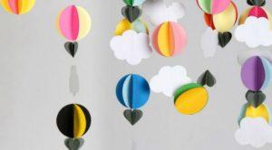 movil-nubes-papel figuras de amor