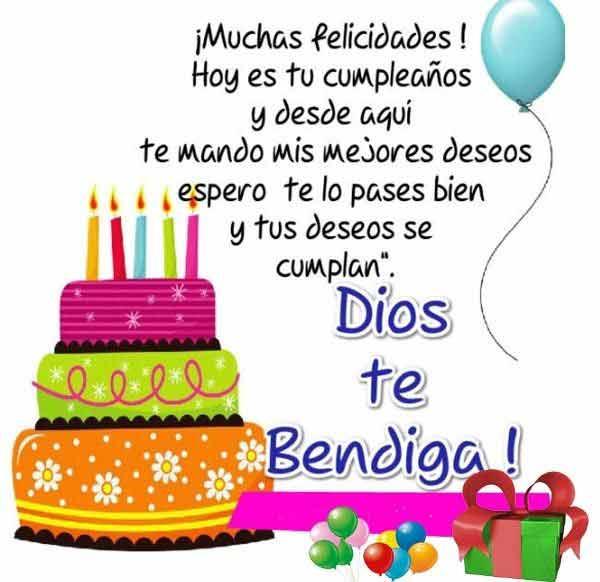 Happy birthday meme in Spanish
