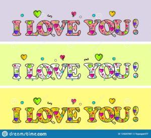 Dibujos de amor color