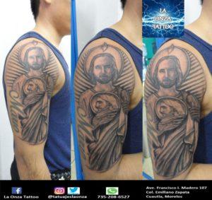 Tattoo.-San-Judas-Tadeo.-Tatuaje.-La-Onza-Tattoo.-Tatuajes.-cuautla