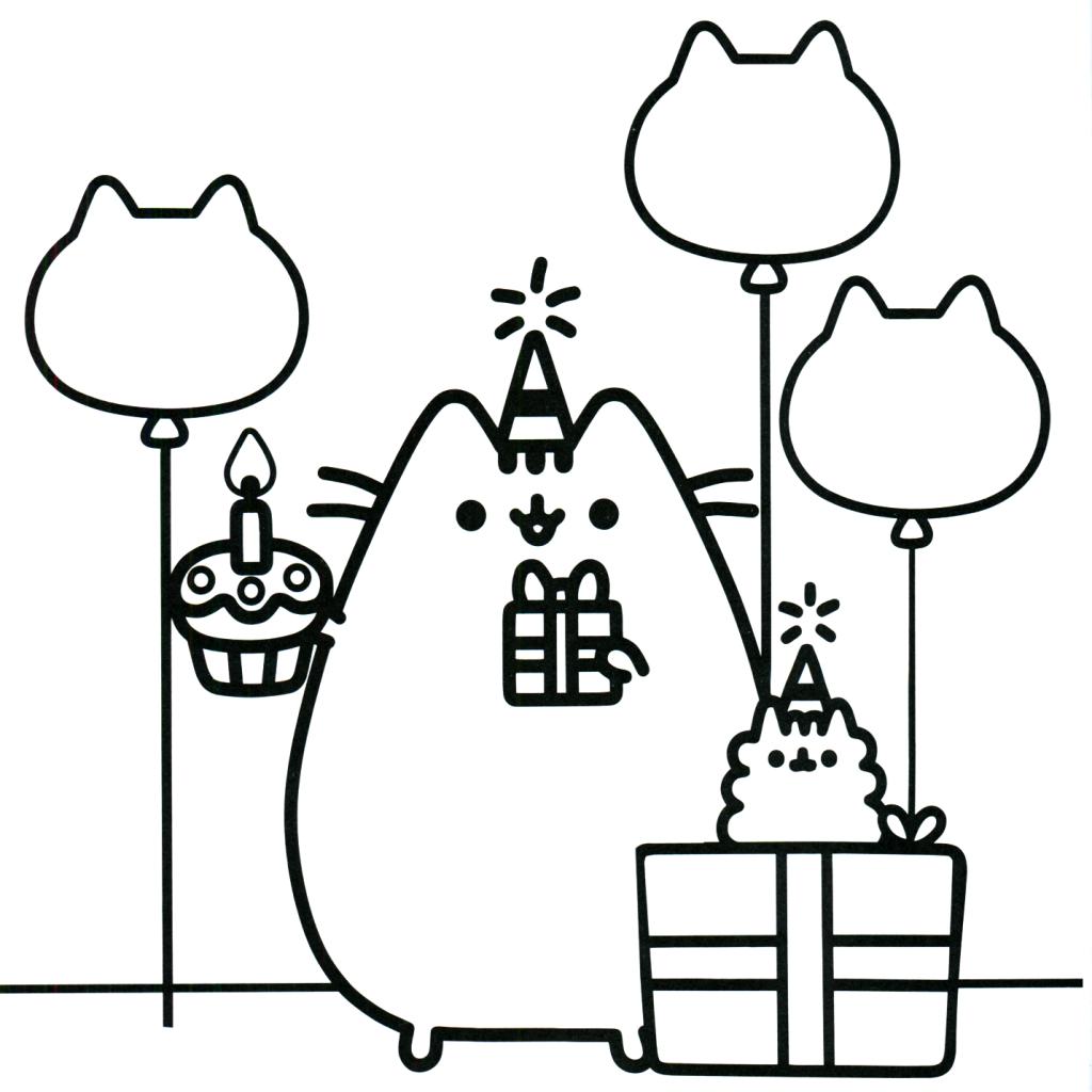 Dibujos kawaii de pasteles de unicornio
