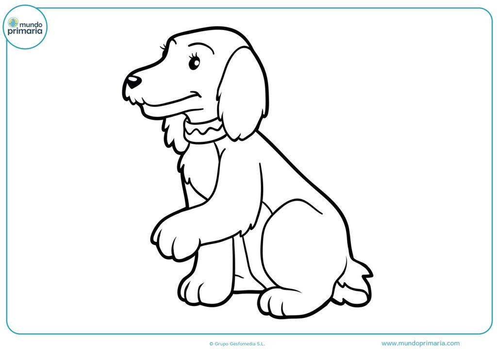 Como dibujar un perro facil