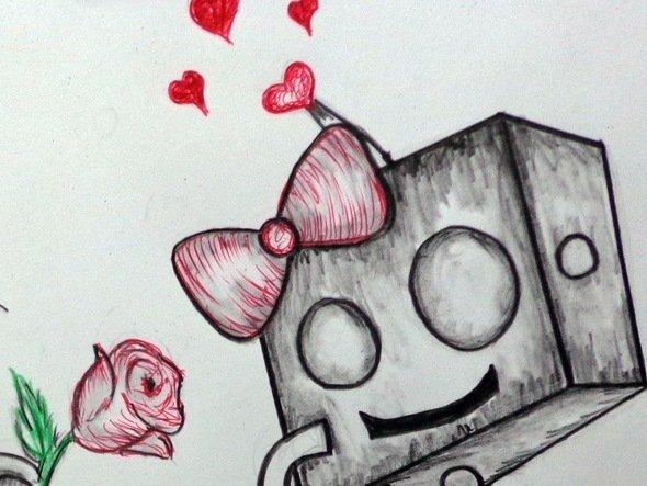 Dibujo de amor a color