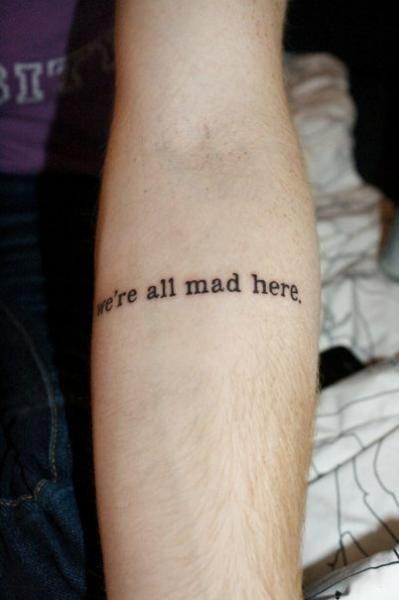 Tumblr quotes tattoos