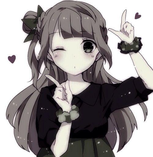 Anime kawaii girls