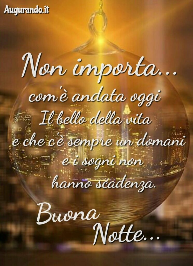Imagenes de buenas noches en italiano