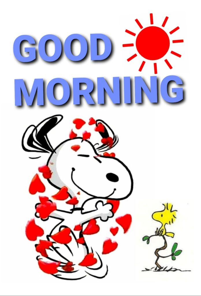 Good morning Monday snoopy
