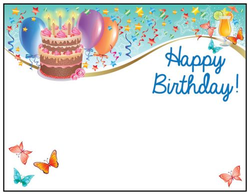 Birthday card for a friend message