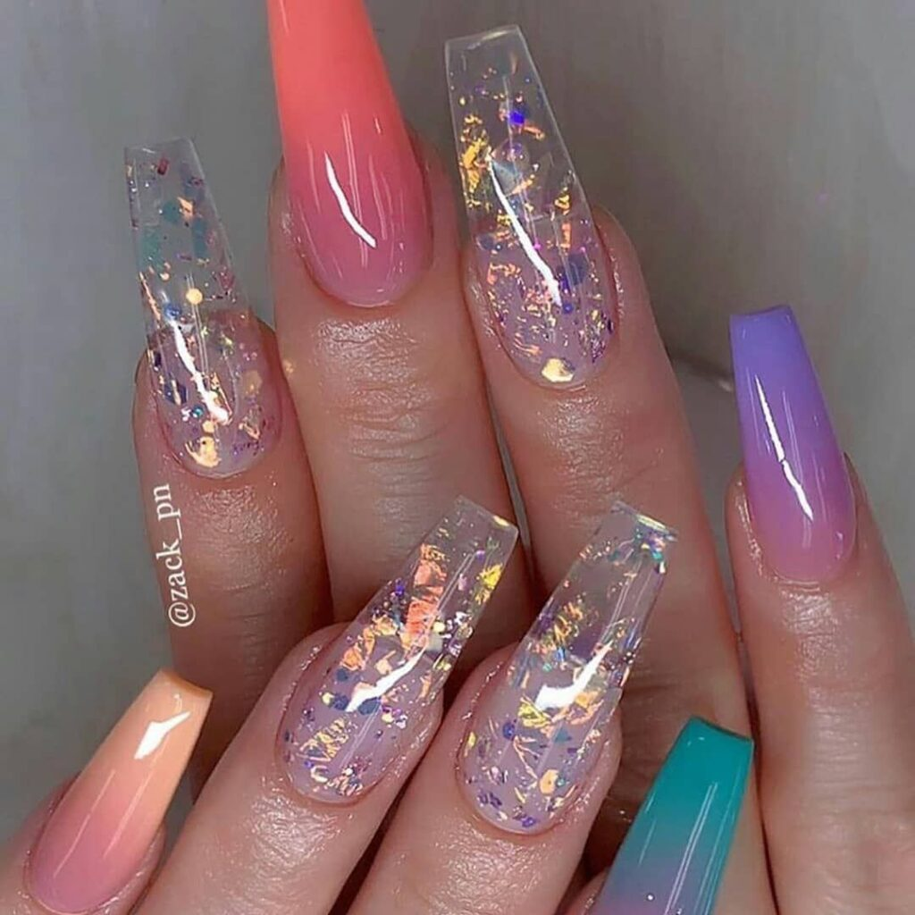 Imágenes de uñas esculpidas