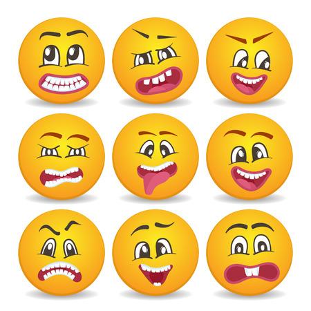 Caritas tristes emojis