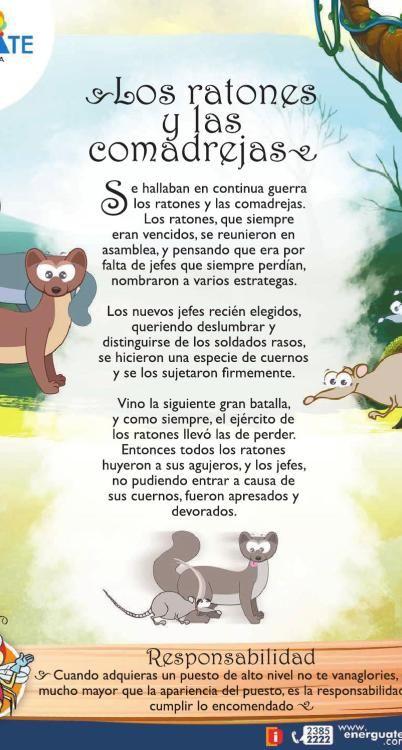 fabulas para niños lectura