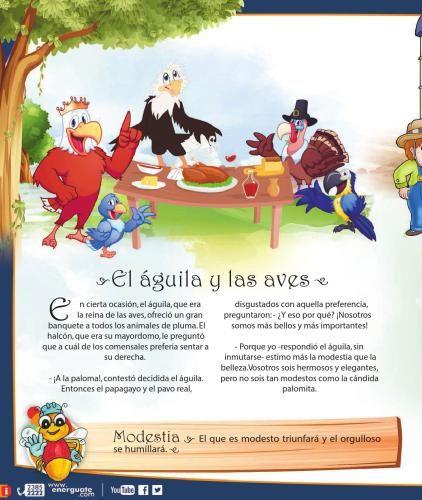 fabulas para niños actividades
