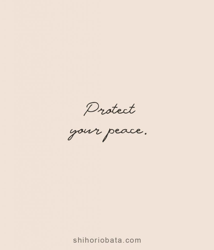 Short quotes peace