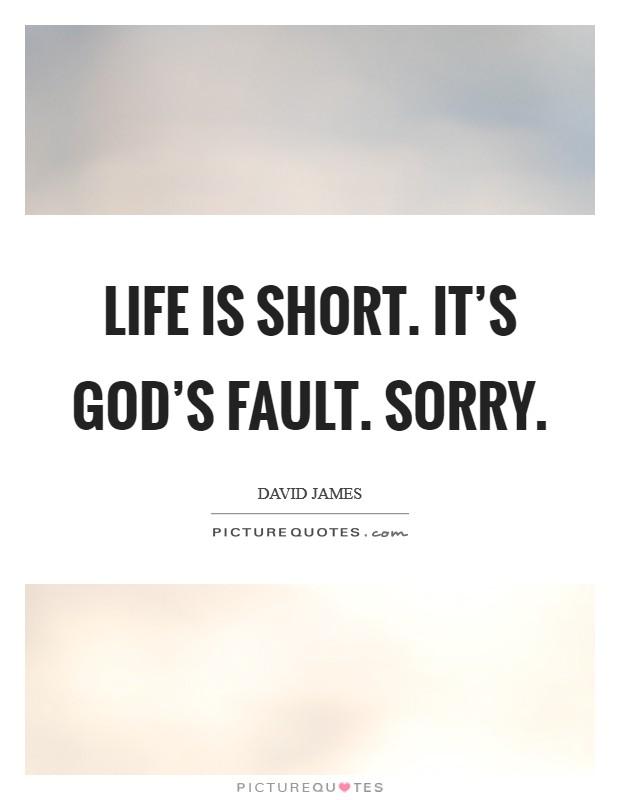 Short quotes god